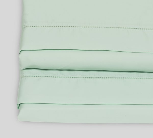 Milky Green flat sheet | Meadow Nest