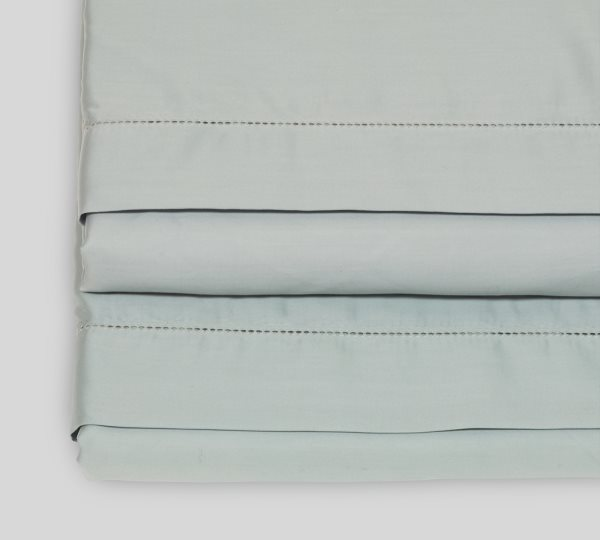 Pearl Blue flat sheet | Deep Quest