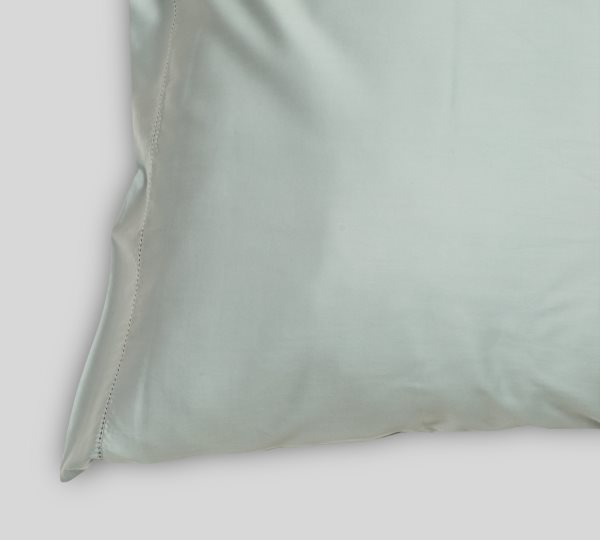 Pearl Blue pillowcase (2 pieces) | Deep Quest